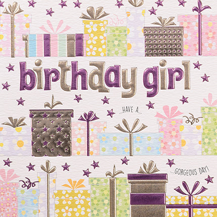 wendy jones blacket presents birthday girl