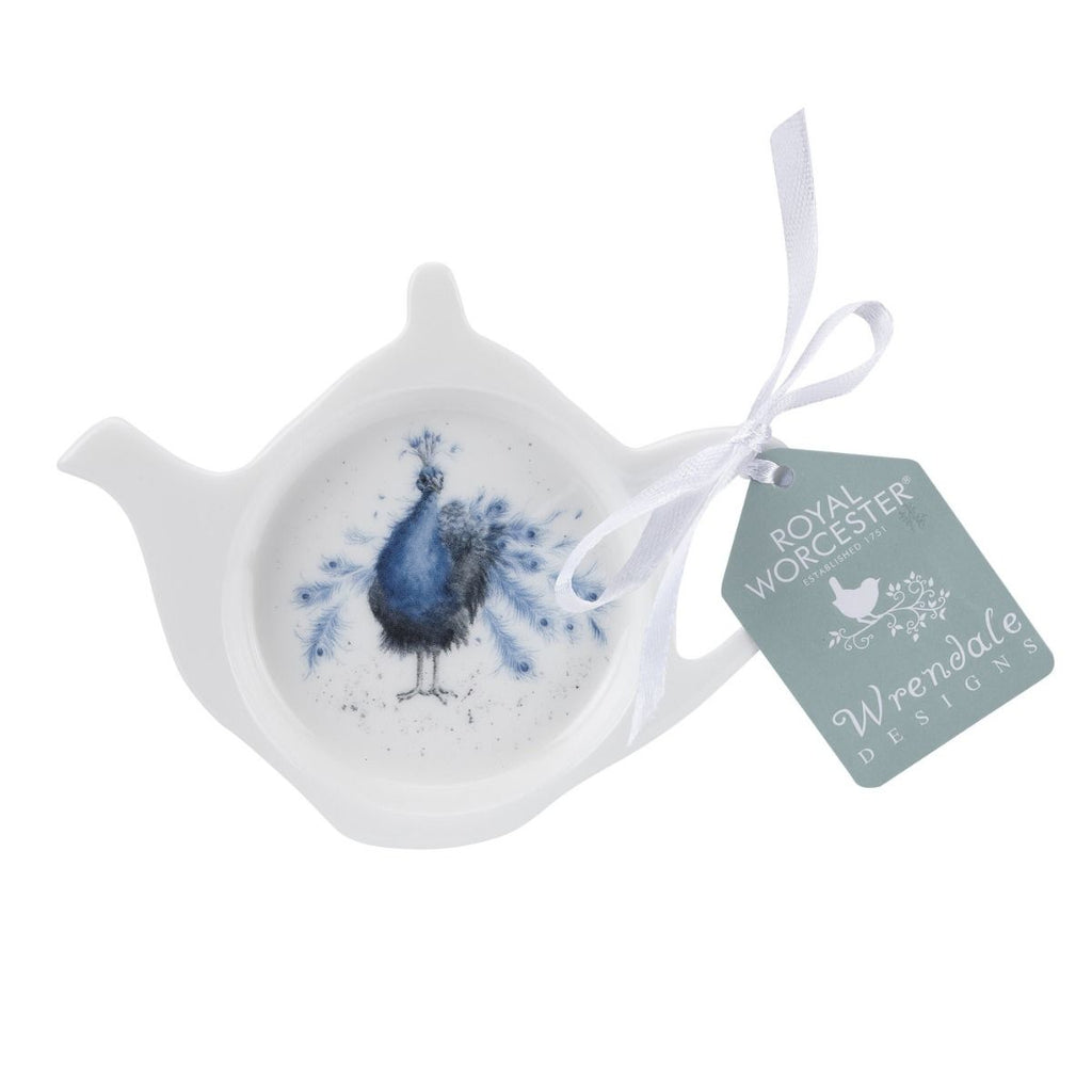Wrendale Peacock Tea Bag Tidy