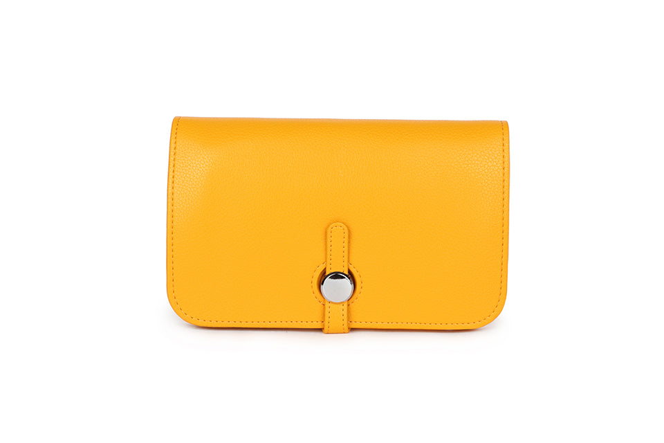Mustard Wallet and Coin Purse