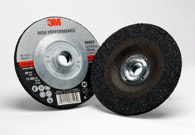 3M(TM) High Performance Depressed Center Grinding Wheel T27 Quic