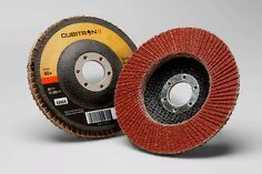 3M(TM) Cubitron(TM) II Flap Disc 967A, T27 4-1/2 in x 7/8 in 40+