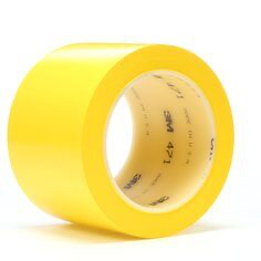 3M(TM) Vinyl Tape 471 Yellow, 2 in x 36 yd 5.2 mil, (price per roll