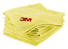 Scotch-Brite® High Performance Cloth 2011-YEL, 12.5