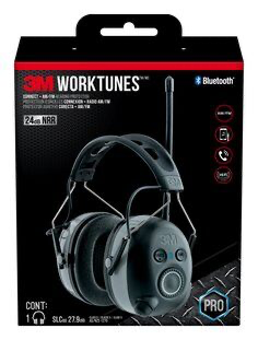 3M(TM) WorkTunes(TM) Wireless Hearing Protector with Bluetooth T