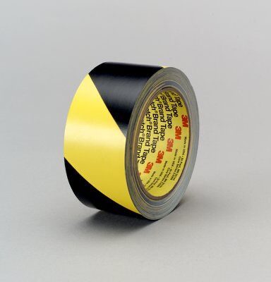 3M(TM) Safety Stripe Tape 5702, Black/Yellow, 4 in x 36 yd, 5.4 mil