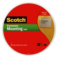 Scotch(R) Mounting Tape 110-MR, 3/4 in x 38 yd  (price per roll)