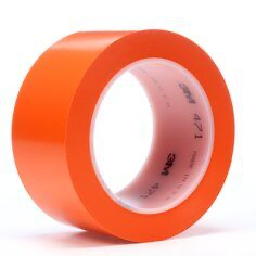 3M(TM) Vinyl Tape 471 Orange 2 in x 36 yd (price per roll) 00021