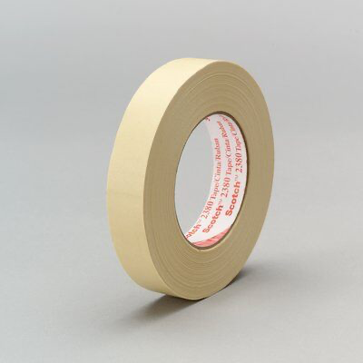 3M(TM) Performance Masking Tape 2380 Tan, 72 mm x 55 m 7.2 mil, 12