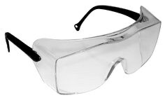 OX(TM) OTG Black Temple 12159-00000-20 Clear Lens (price per pai