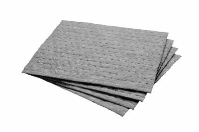3M(TM) Maintenance Sorbent Pad Gray Medium Weight MCM 17 in x 15 in
