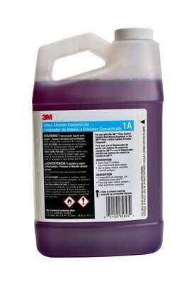 3M(TM) Glass Cleaner Concentrate 1A, 0.5 Gallon, 4/Case  (sold by t
