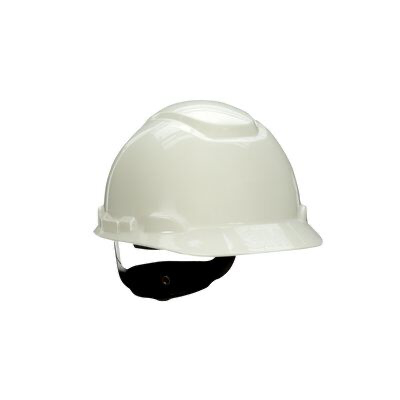 3M(TM) HardHat H-701R-UV, with UVicator, White, 4-Point Ratchet