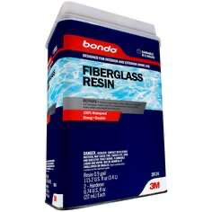 Bondo® Fiberglass Resin, 20124, 0.9 Gallon, 2 per case (price pe