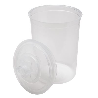 PPS(TM) Kit 16024 25 lids/liners 200 micron filter Large for use