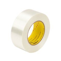 Scotch(R) Filament Tape 893 Clear, 24 mm x 55 m, 36 rolls per ca