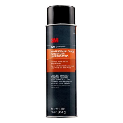 3M(TM) Professional Grade Rubberized Undercoating, 03584, 16 oz