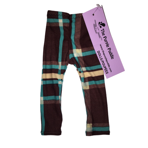 Darcy Plaid Doll Leggings
