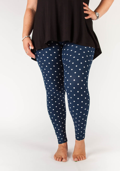 Dotty Navy Large