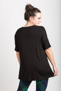Drop Shoulder Short Sleeve