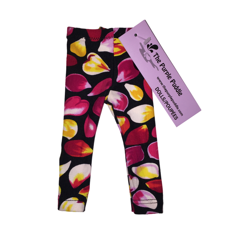 Falling Petals Doll Leggings