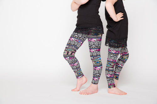 Floral Trace Pink Kids