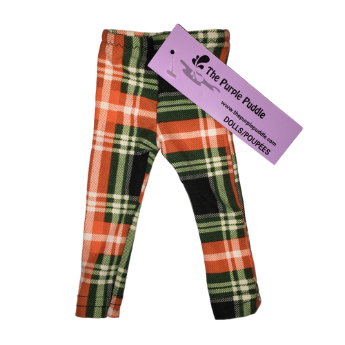 Patrick Plaid Doll Leggings