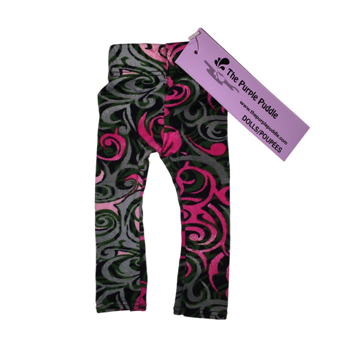 Sweet Swirl Doll Leggings