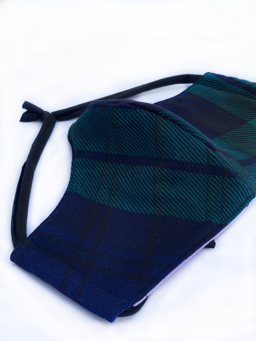 Black Watch Tartan Face Mask