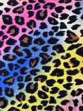 Rainbow Leopard Face Mask