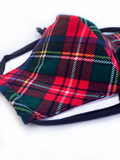 Royal Stewart Tartan Face Mask
