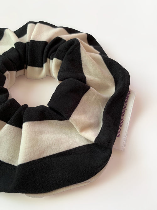 Striped Spectacle Scrunchie