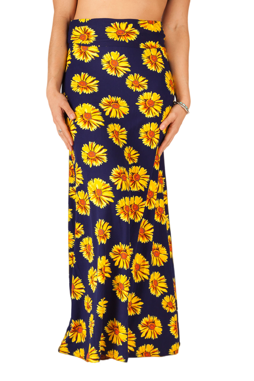 Sunflower Power MAXI SKIRT