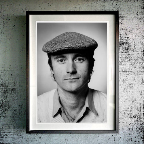 Flat Cap Framed Photo Print
