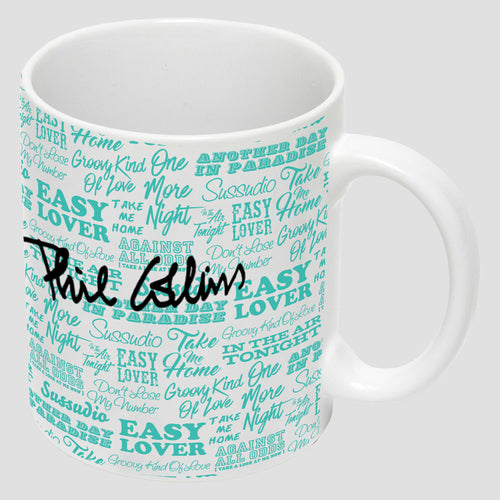Lyric Mug White