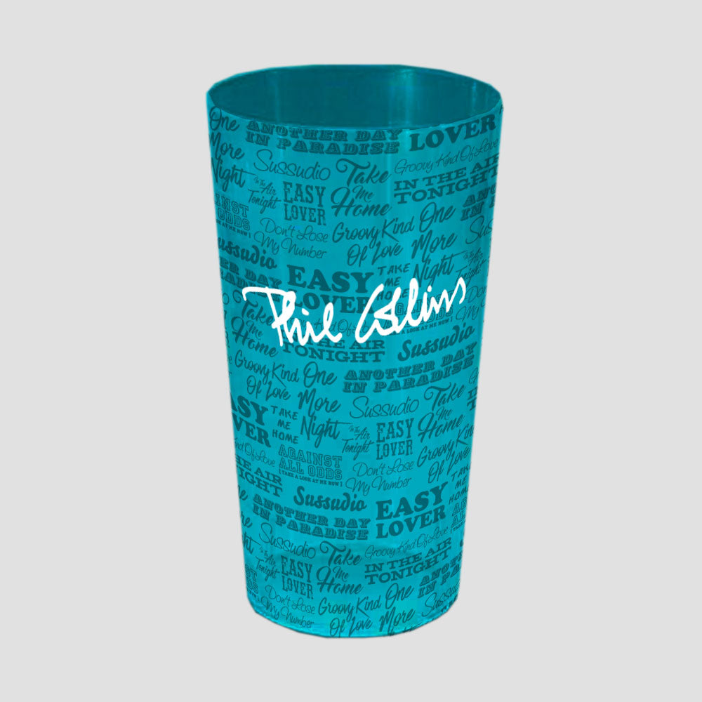 Beer Cup 1/2 Pint Blue