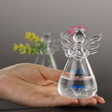 Guardian Angel Glass Flower Vase