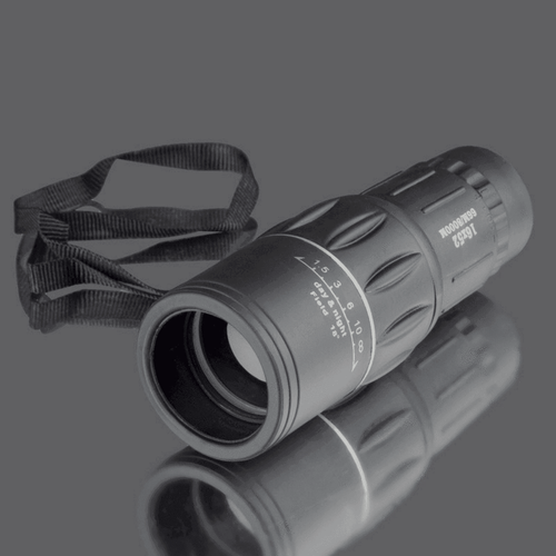 16x52 Super Clear Dual Focus Zoom Monocular Scope