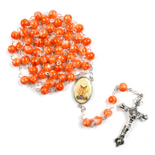 First Communion Hand-Made Glass Bead Rosary