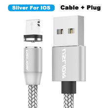 Magnetic Fast Charging Cable for Micro USB, Type C, and iOS Devices
