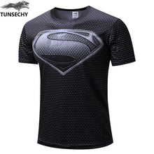 Amazing Superhero-Themed Fitness Quick-Dry T-Shirt!