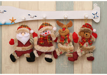 Cute 4 Piece Christmas Tree Ornament Set