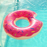 Giant Pink Donut Ring