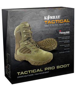 Tactical Pro Boots - 50/50 - Coyote