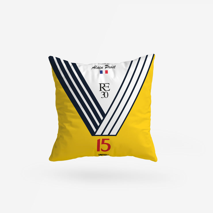 Coussin Alain Prost Renault Elf