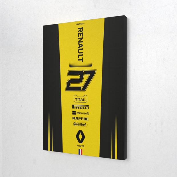 Toile & Poster Renault F1 R.S. 19