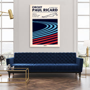 Toile & Poster Circuit Paul Ricard