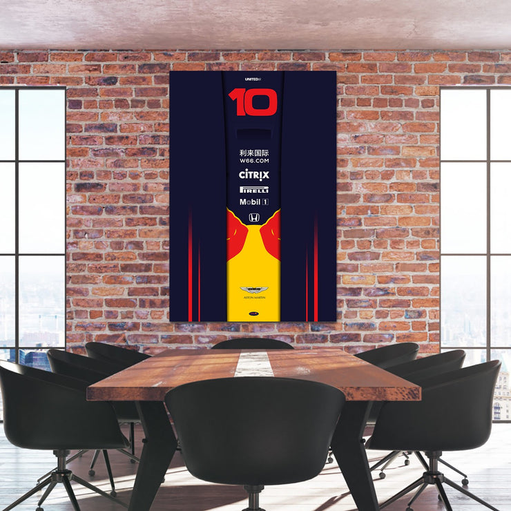 Toile & Poster Red Bull RB15