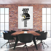 Toile & Poster Tribute to Jacky Ickx