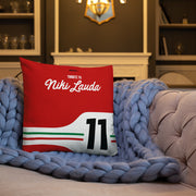 Coussin Tribute to Niki Lauda