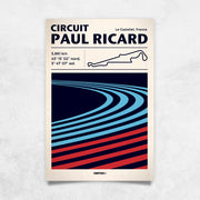 Toile & Poster Paul Ricard Track